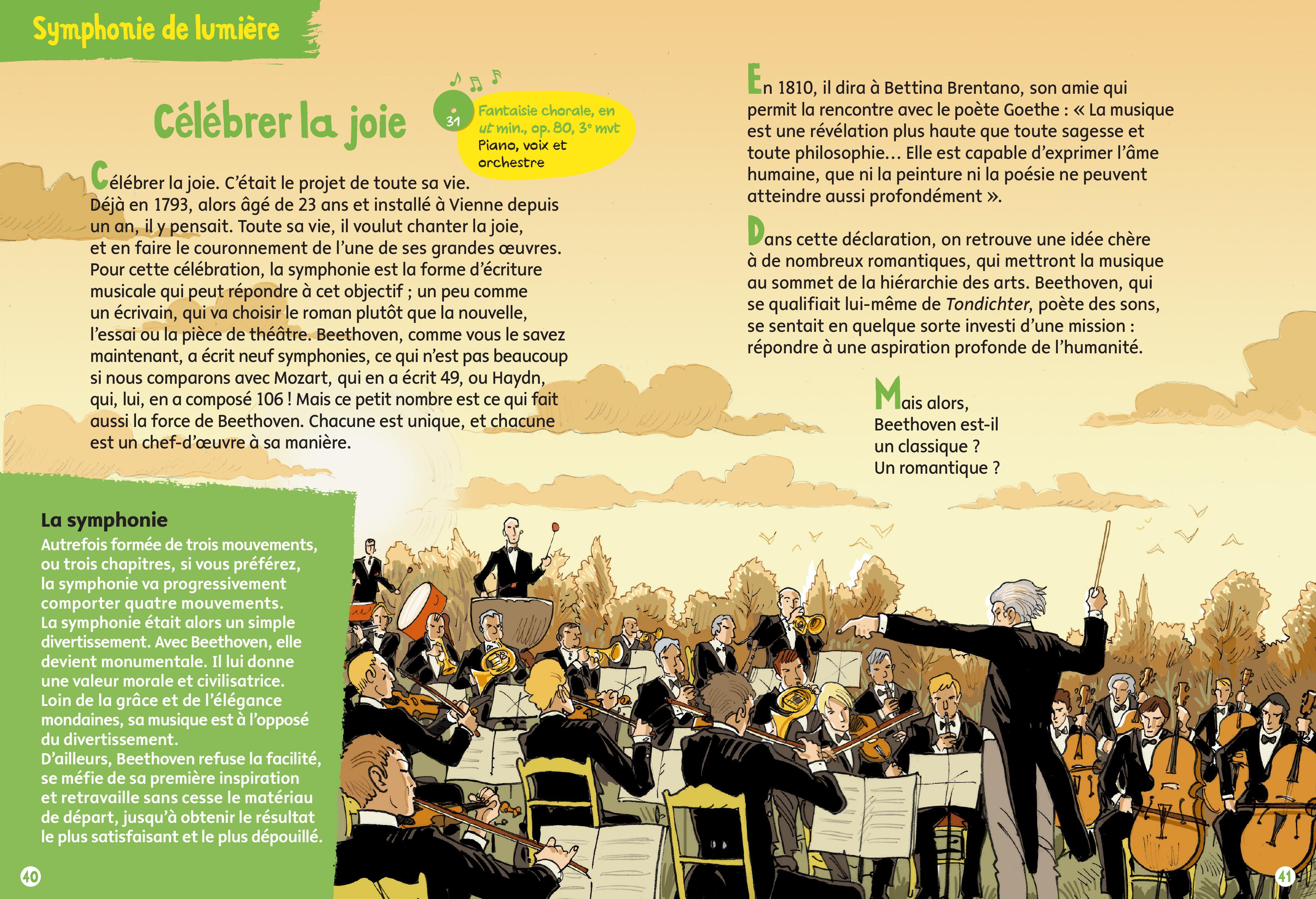 Beethoven - Aperçu - Célébrer la joie