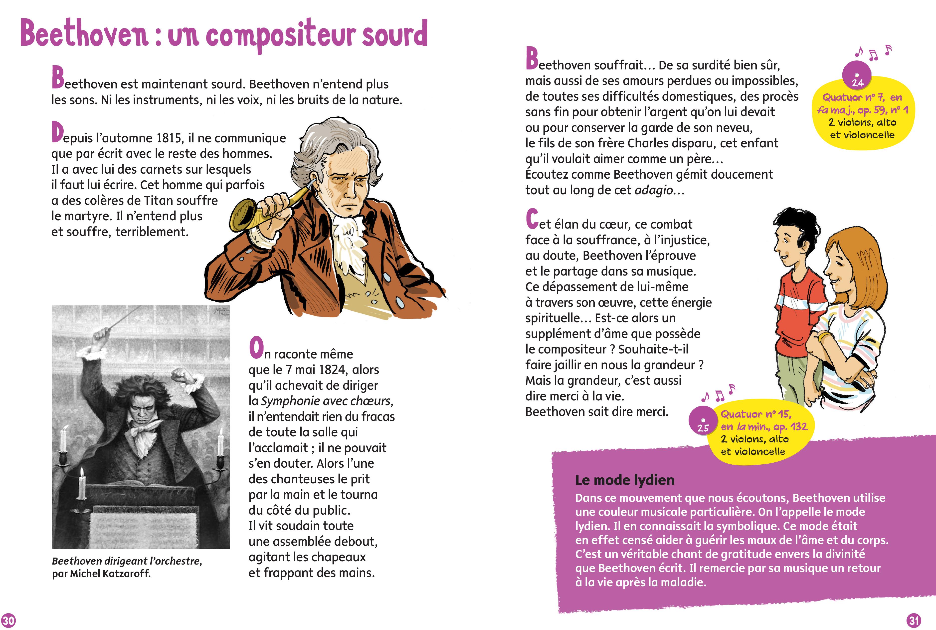 Beethoven - Aperçu - Un compositeur sourd